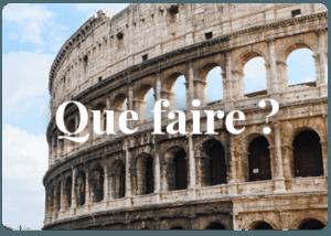 Que voir à Rome ?