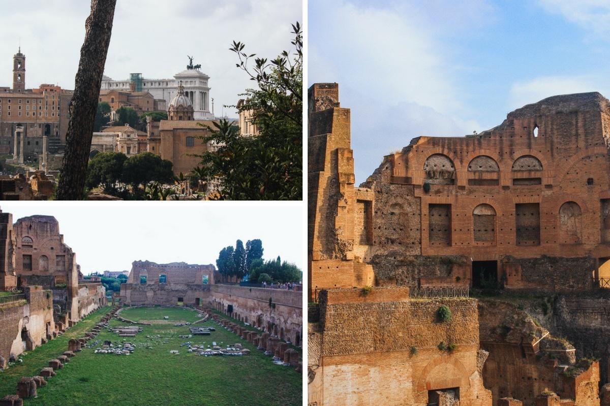visiter le mont palatin à rome