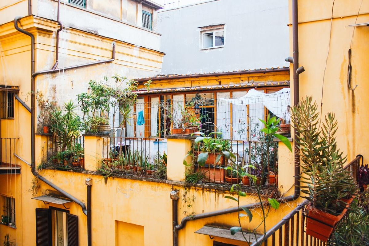 Quartier du Trastevere Rome