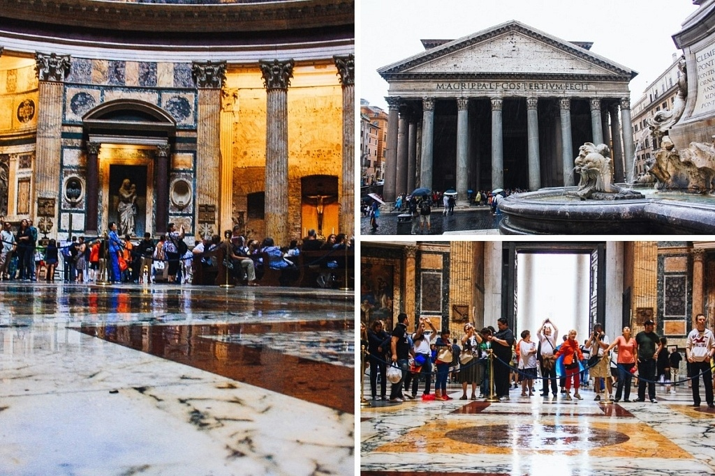 pantheon centre-ville rome
