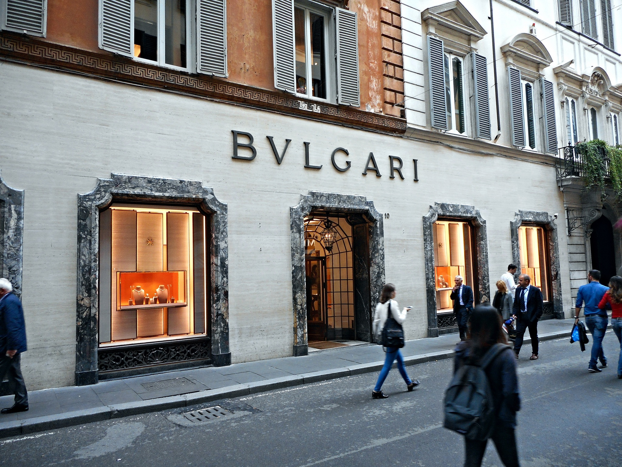Boutique Bulgari, Shoppin, Rome