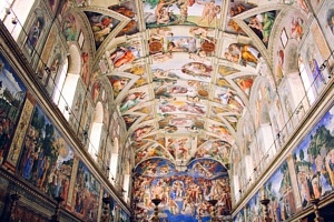 vatican chapelle sixtine