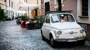 stationnement voiture rome