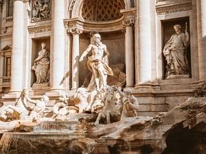 Neptune Fontaine de Trevi