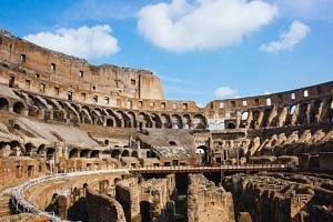 Vue intérieur du Colisée