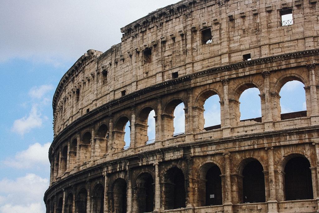 Le Colisée, monuments de la Rome Antique