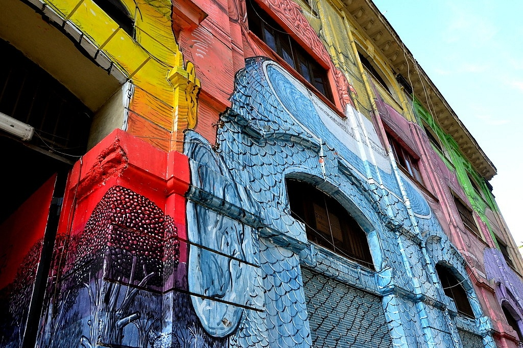 Street Art Ostiense, Rome
