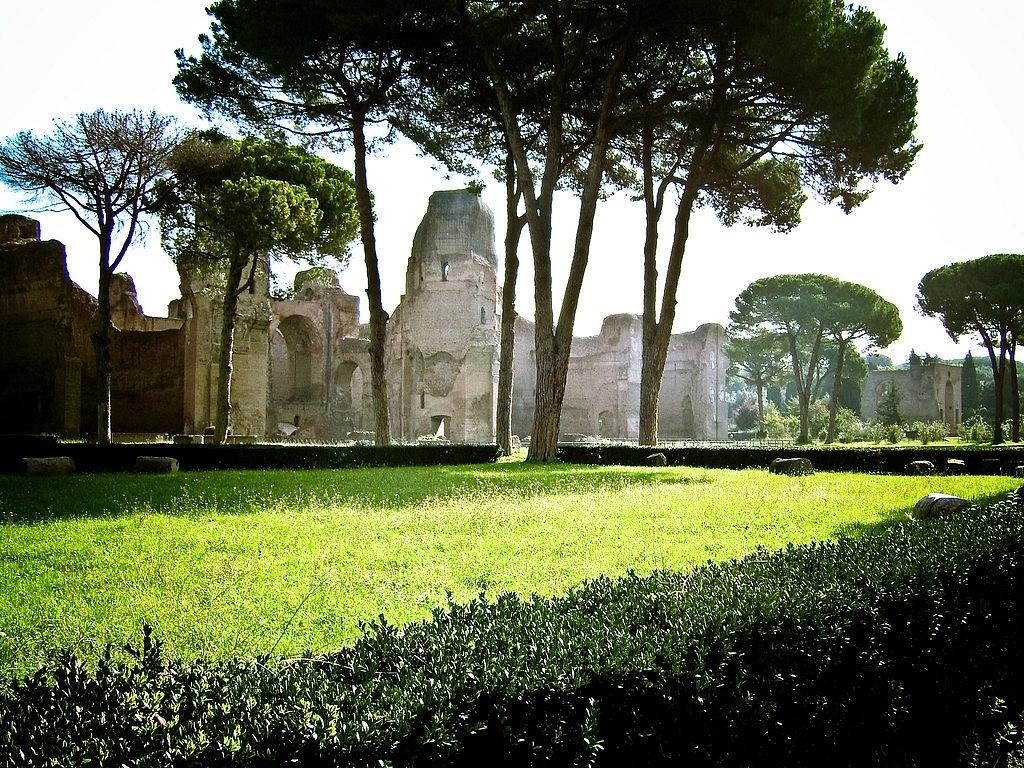 Thermes de Caracalla, Rome