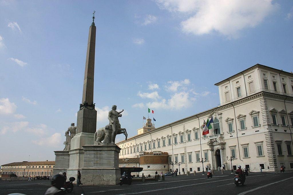 Palais du Quirinal, Rome