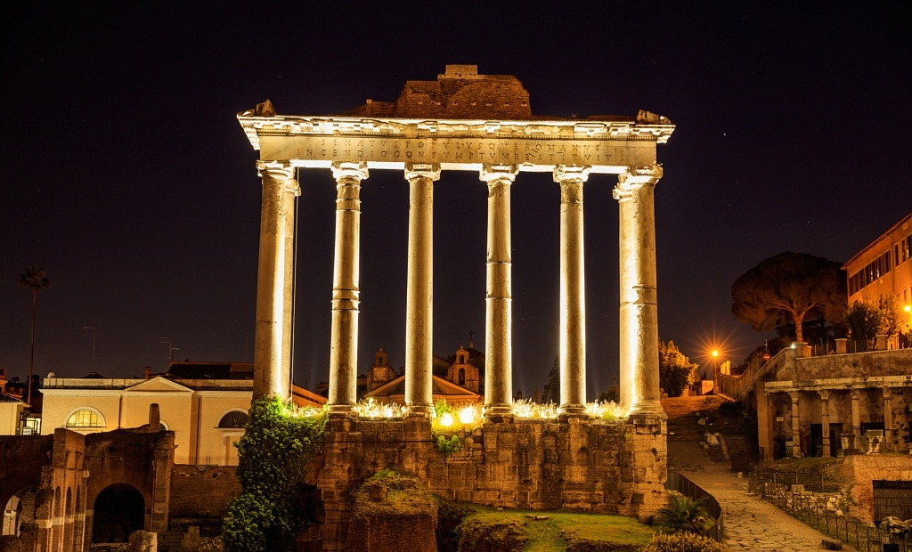 Temple de Saturne, Forum, Rome